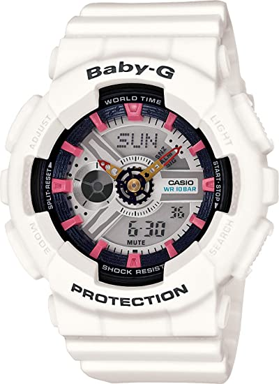 7e66ce728fee41 BA110SN-7A - Baby-G, Womens, Ladies, Analog, Digital Casio: Amazon.ca:  Watches