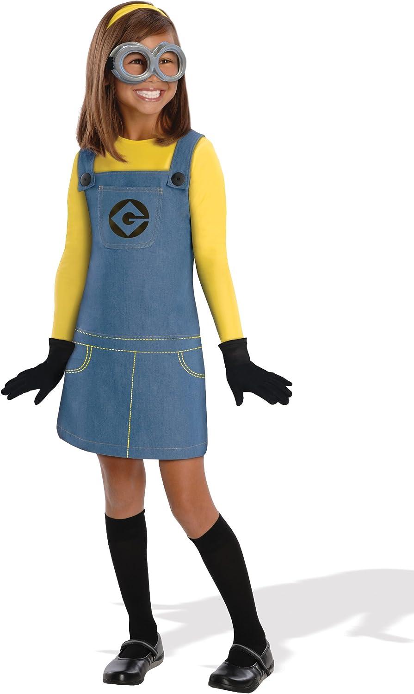 Gru, Mi Villano Favorito - Disfraz de Minion para niña, infantil 3 ...
