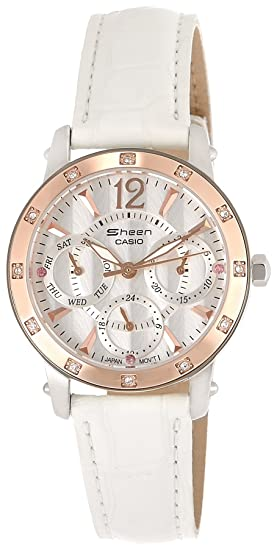 Casio General Ladies relojes brillo shn-3012gl-7adr - WW: Amazon.es: Relojes