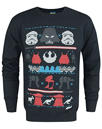 Amazon.com: Star Wars Dark Side Fair Isle Men's Sweater: Clothing