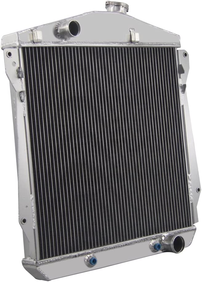 3 ROWS//CORES ALUMINUM 43 44 45 46 47 48 CHEVY ENGINE CAR SEDAN COUPE V8 RADIATOR