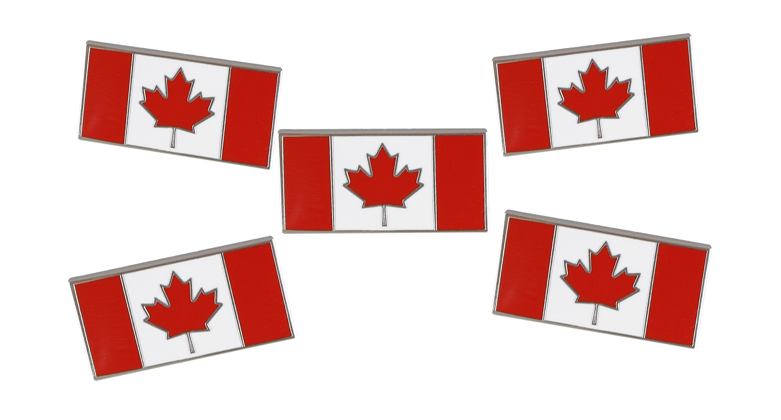 Forge Canadian Flag-Maple Leaf - Enamel Lapel Pins- Bulk (100 Pins) by Forge (Image #4)