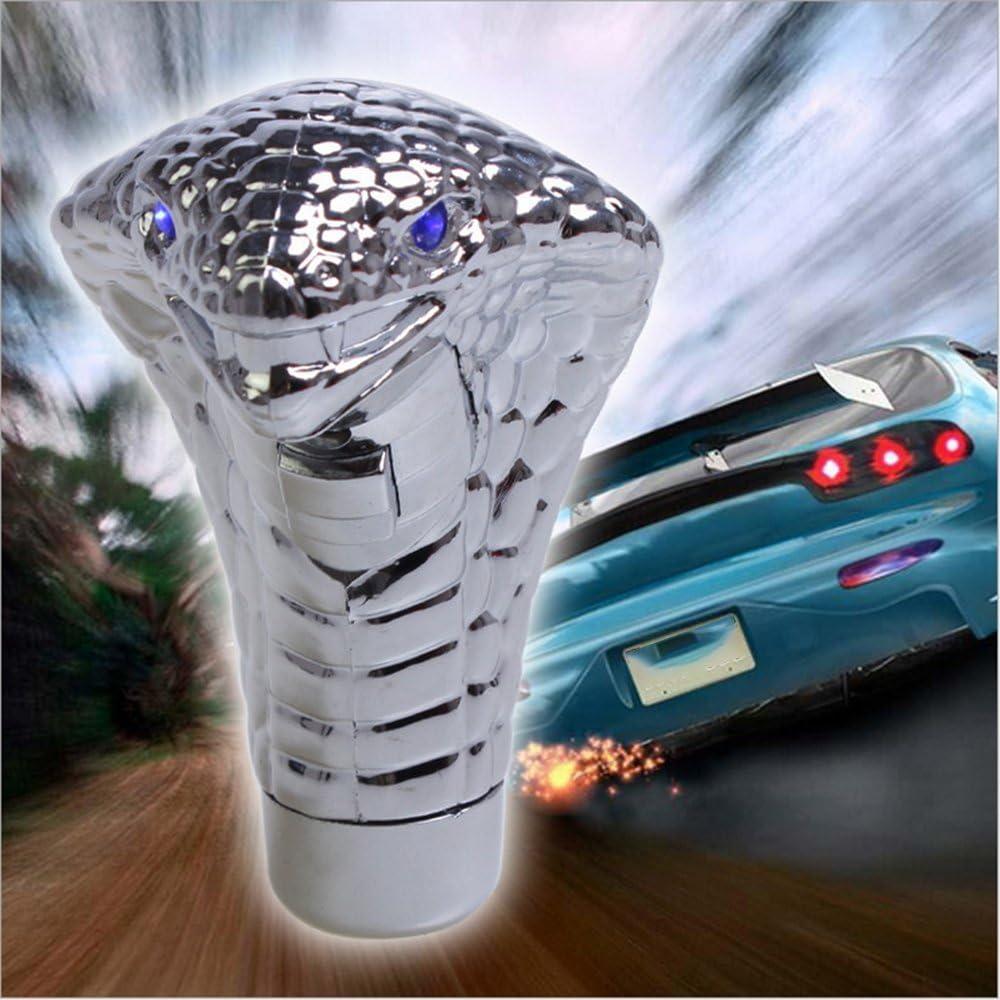GoolRC Car Blue LED Flash Light Manual Gear Shift Knob Vehicle Modifications Interior Decoration Universal Shifter Auto Accessories
