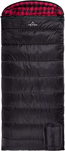 TETON Sports Celsius XXL Sleeping Bag Great for Family Camping Free Compression Sack
