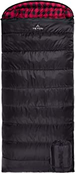 TETON Sports Celsius XXL Sleeping Bag; Great for Family Camping; Free