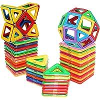 D-tal 30-Pieces Magnetic Building Blocks Basic Set