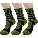 Waymoda 3 Pairs Unisex Sports Socks, Quick Drying, Elastic Compression Strip and Non Slip buffer Liner, Outdoor…