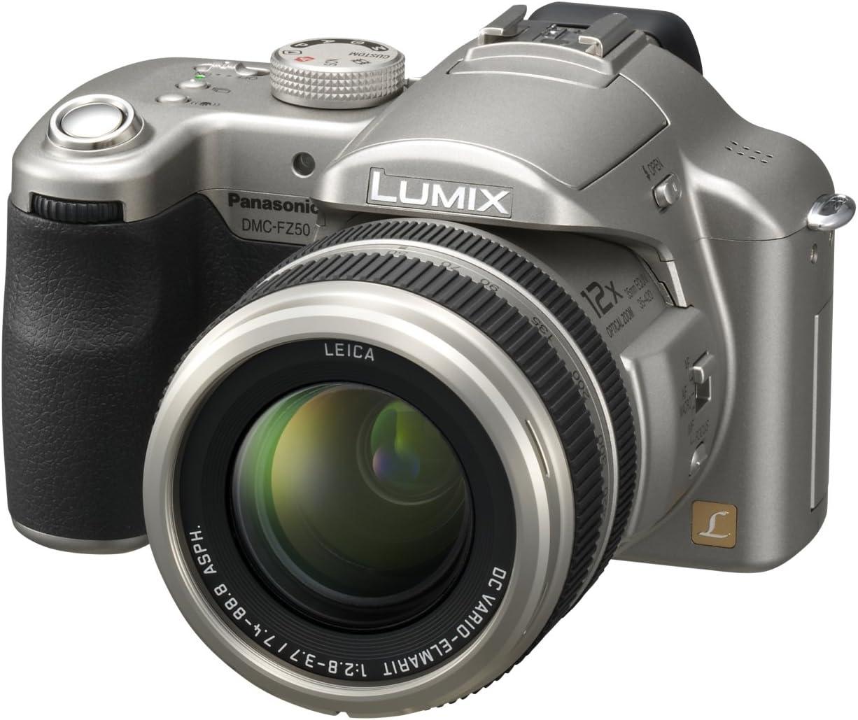 Panasonic Lumix Dmc Fz50 Eg S Digitalkamera 2 Zoll Kamera