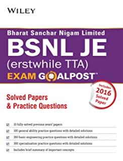 Bsnl Tta Exam Preparation Books Pdf