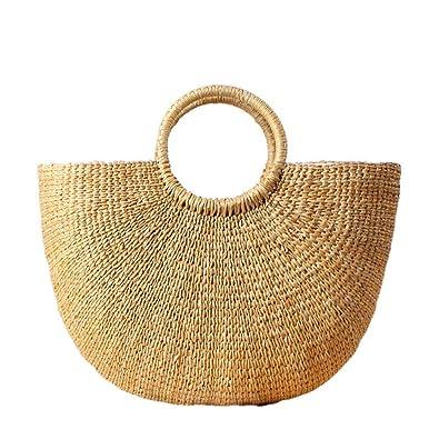 fonxoy-backpack Bolsa De Paja Bolsa De Playa De Pañuelo ...