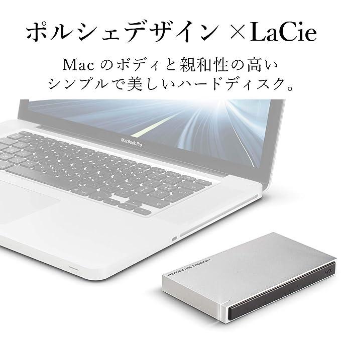 LaCie Porsche Design - Disco Duro portátil, 2TB (USB 3.0), Color Gris Claro: Seagate: Amazon.es: Informática