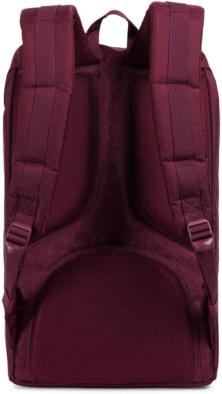 Herschel Supply Co. Little America Backpack Windsor Wine Veggie Tan Leather