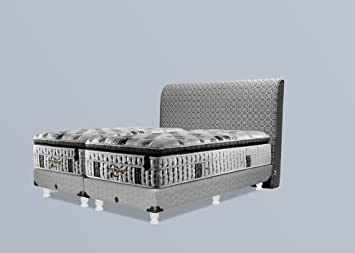 Boxspring Bett Rattan Great Einzelbett Ikea Metall Bettgestell X