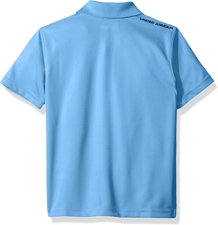 Under Armour Boys' Ua Logo Short Sleeve Polo: Clothing