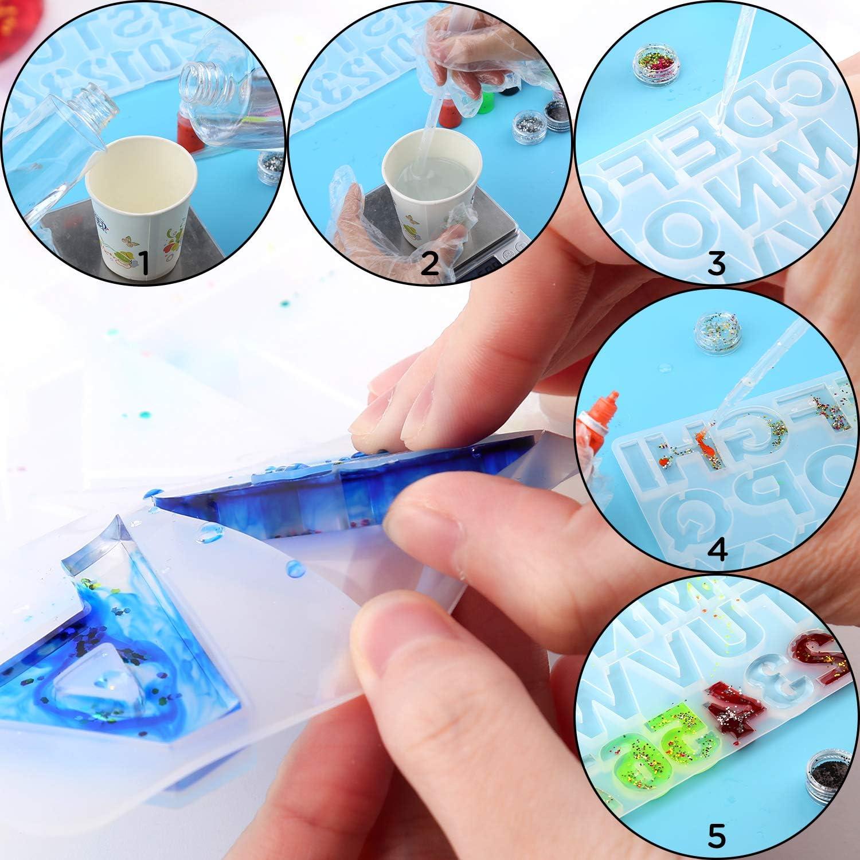 AIEX Stampo Portachiavi Alfabeto con Set Completo di ...