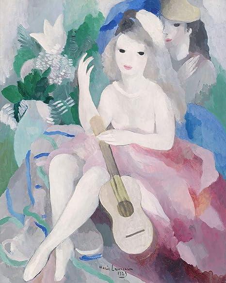 Marie Laurencin Giclee Impression Sur Toile De Celebres Tableaux