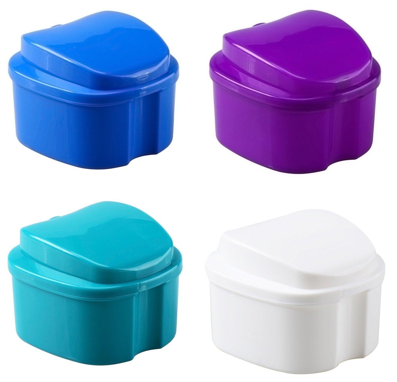 ORAfix Complete Care Premium Denture Bath, Colors May Vary