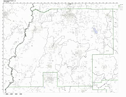 Amazon Com Beauregard Parish Louisiana La Zip Code Map Not