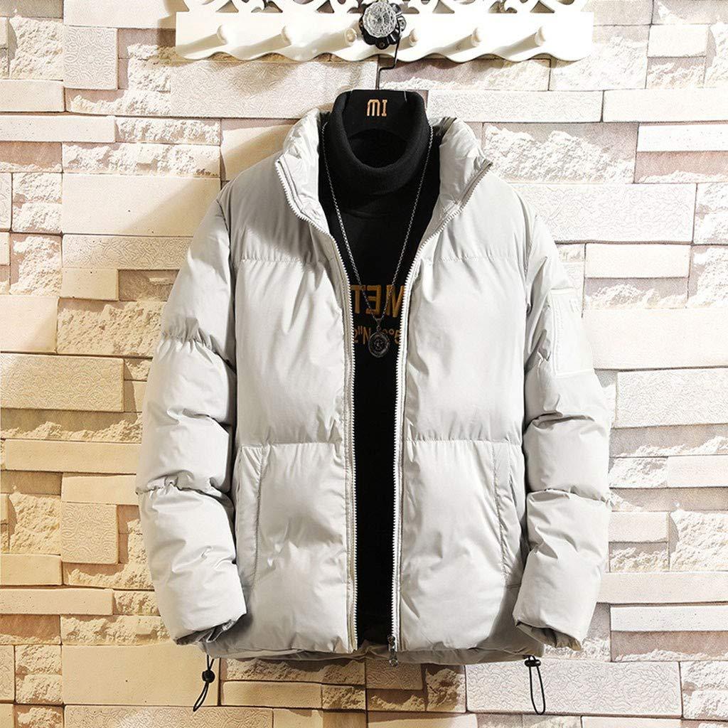 AIEason Mens Winter Long Sleeves to Keep Warm Lightweight Packable Water-Resistant Puffer Down Jacket