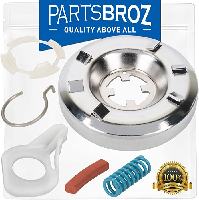285785 Clutch Assembly for Whirlpool Direct Drive Washing Machines by PartsBroz - Replaces AP3094537, 285331, 3351343, 3946794, 3951311, 62699, AH334641, EA334641, LP326, PS334641