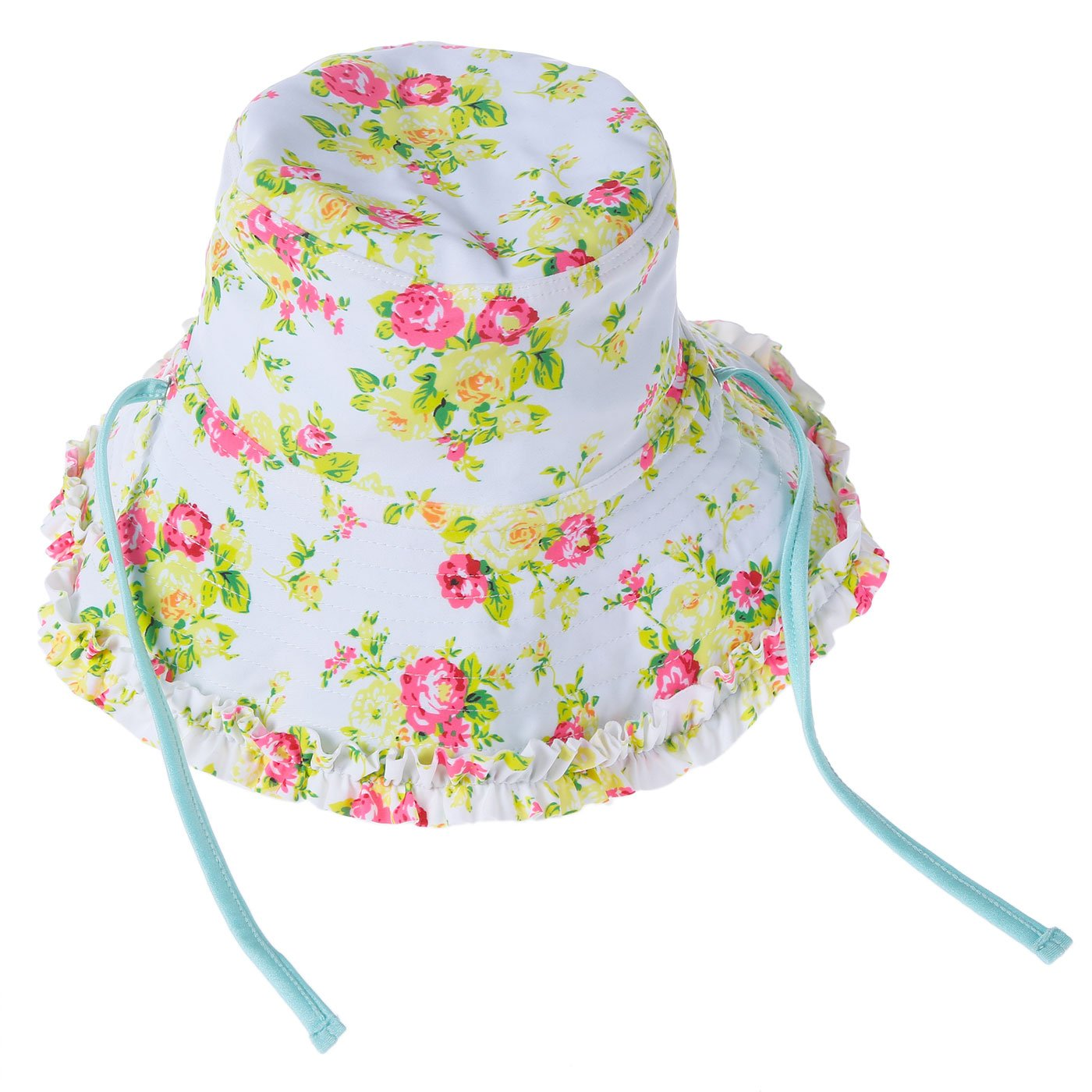 Happy Cherry Kids Outdoor Sun Hats, UPF 50+ Sun Protection Flap Hats