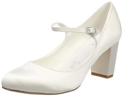 Lorena, Chaussures de Mariage Femme, Ecru (Ivory 04), 38 EUMenbur