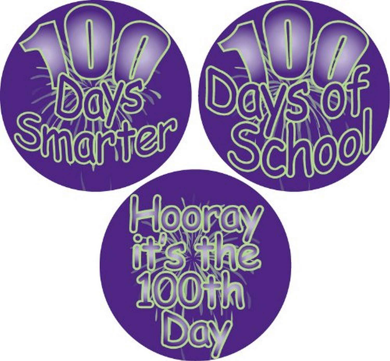 Roll of 100 Black//Orange Adhesive Label 15189C Teacher Halloween Witch School Stickers 2-1//2-Inch