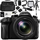 Panasonic Lumix DMC-FZ2500 Digital Camera Bundle 12PC Kit - Includes 64GB SD Memory Card & MORE - International Version (No Warranty)