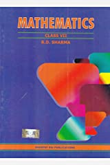 Mathematics for Class 7 by R D Sharma (2019-2020 Session) Paperback
