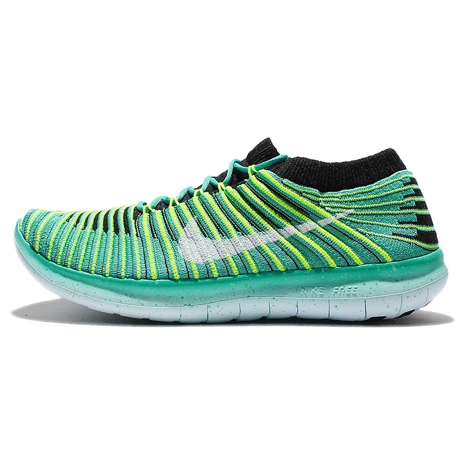 the latest 56073 b541d ... top quality amazon nike womens free rn motion flyknit running shoes  jade 834585 300 9 road
