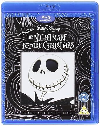 The Nightmare Before Christmas [Blu-ray] [1993]: Amazon.co.uk: Tim ...