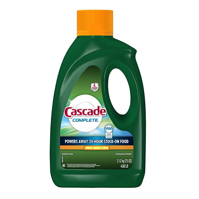 Cascade Complete Gel All-in-1 Dishwasher Detergent - Citrus breeze - 75 oz Packaging May Vary