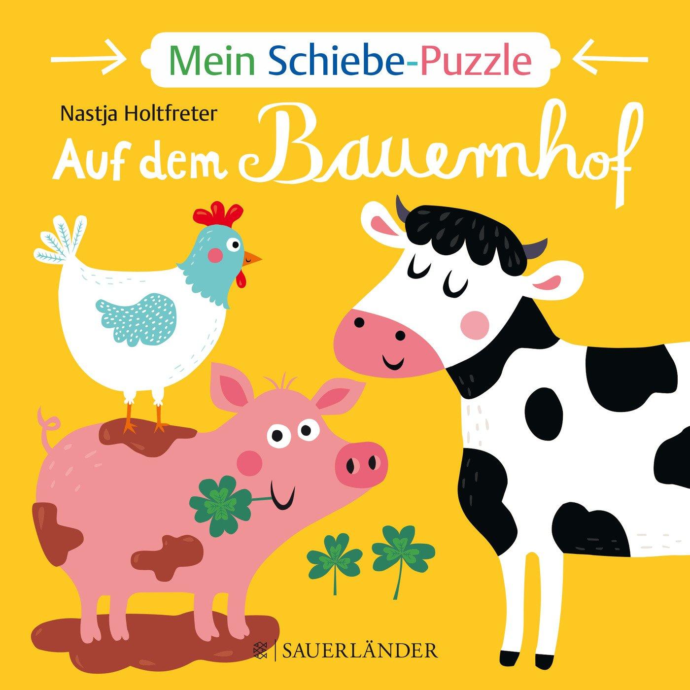 Mein Schiebe-Puzzle: Auf dem Bauernhof (DUDEN Pappbilderbücher 18+ Monate)
