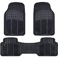 Nylon Carpet Coverking Custom Fit Front and Rear Floor Mats for Select Mercury Milan Models CFMBX1MR7224 Black