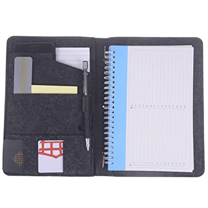 4165ef6d15c1 Amazon.com : Xgood Notebook Cover Leather Notepad Cover Journal ...