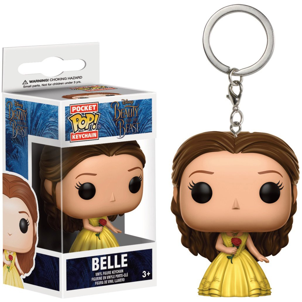 Amazon.com: Belle: Pocket POP! x Beauty & The Beast Mini ...