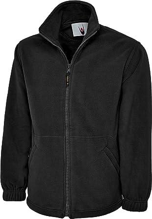 b928704fdf9c Uneek UC604 Mens Adult Classic Full Zip Micro Fleece Coat Jacket Size XS-6XL   Amazon.co.uk  Clothing