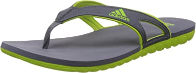 Adidas Calo 5 Herren Schwarz Zehentrenner Sandalen Schuhe