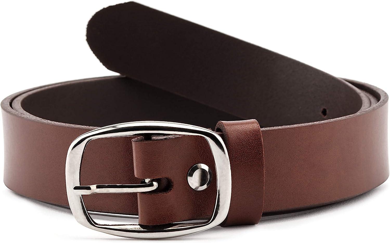 Merry Style Cinturón de Cuero para Mujer 3 cm D41