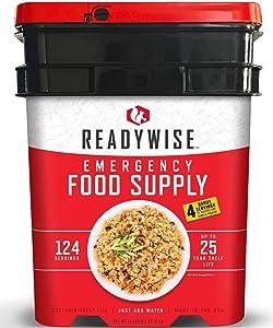 ReadyWise Emergency Food Supply, 124 Servings