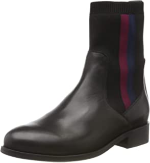 Tommy Hilfiger Tommy Jeans Zip Flat Boot, Stivaletti Donna