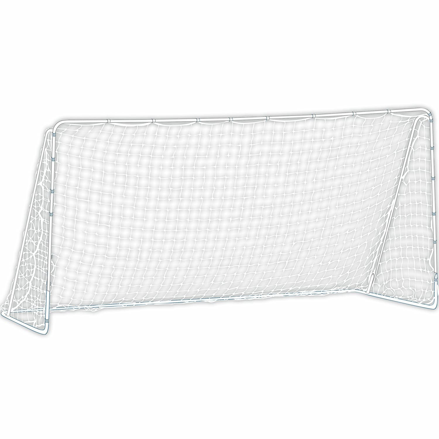 amazon com franklin sports mls tournament goal 6 u0027 x 12 u0027 silver