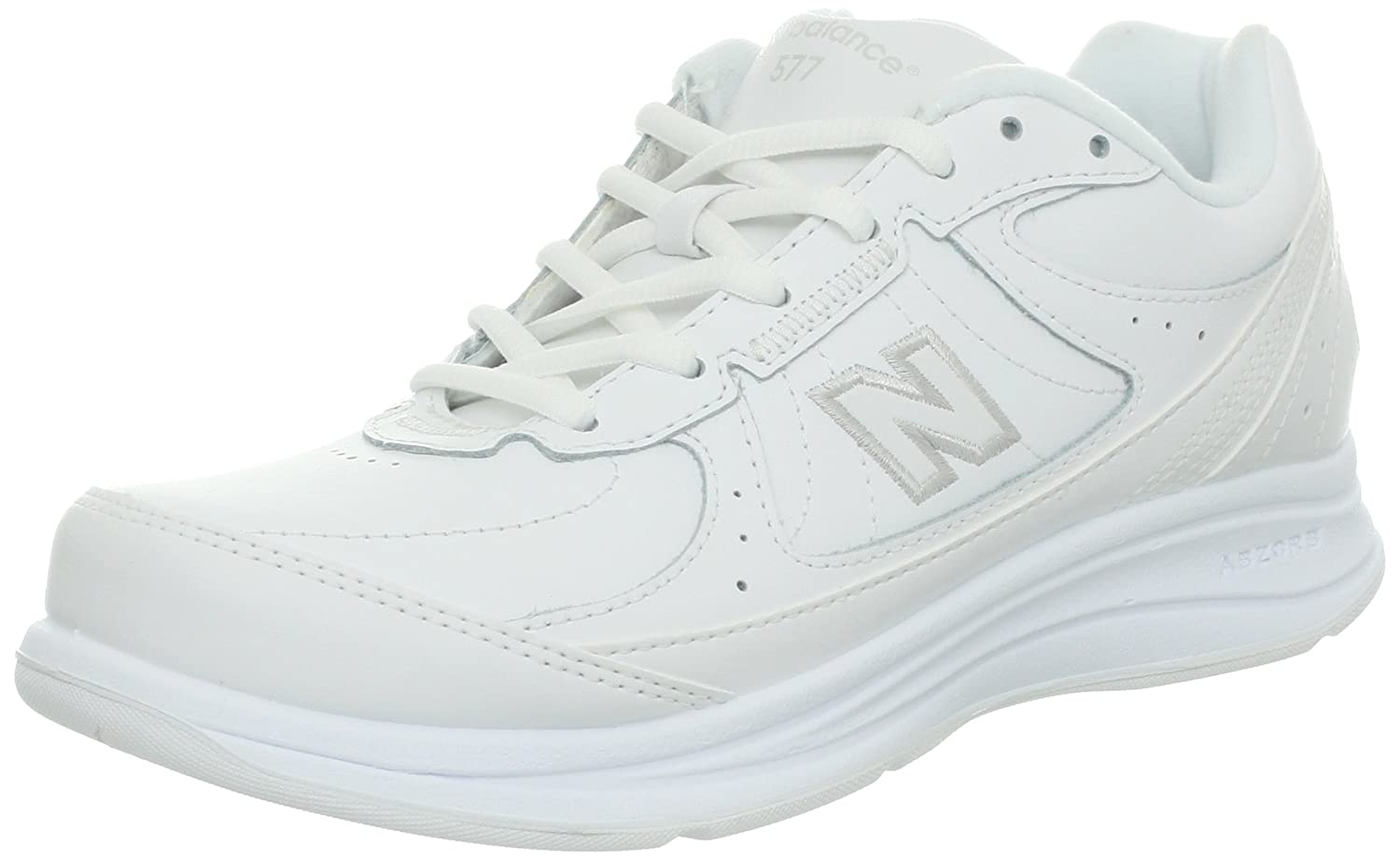 New Balance Women's WW577 Walking Shoe B003UHUKXM 6.5 2A US|White