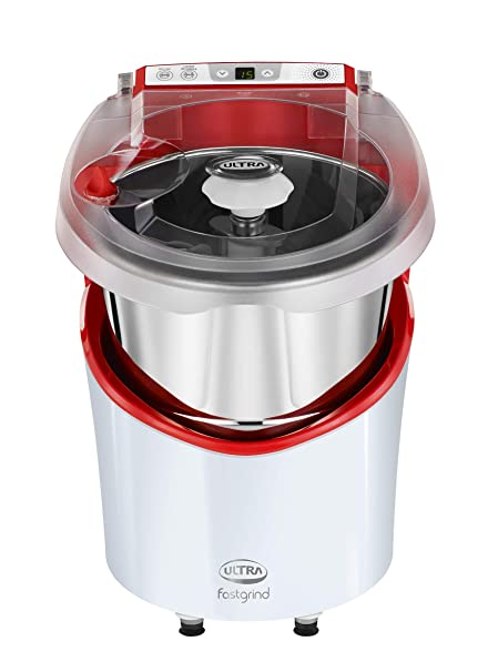 Buy Elgi Ultra Fast grind 2 L Wet Grinder (White with Red Top Cover ...