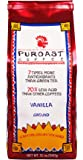 Puroast Low Acid Coffee Vanilla Flavored Coffee Drip Grind, 0.75 Pound Bag (Pack of 2)