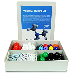 Duluth Labs Organic Chemistry Molecular Model Student Kit - (88 Atoms and 140 Bond Parts) - MM-004