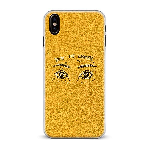 coque iphone x yellow