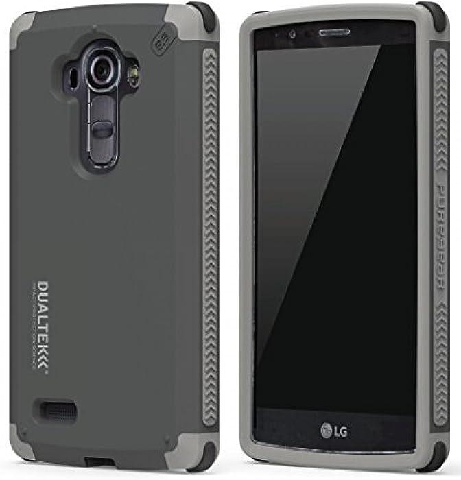 LG G Stylo Case, PureGear Dualtek Extreme Rugged Cover [Matte Black] Military Tested Cover for LG G Stylo (LS770, MS631), LG G Vista-2 (H740), LG G4 Stylus (H631, H634, H635)