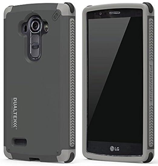 huge discount aba5f 5a8c1 LG G Stylo Case, PureGear Dualtek Extreme Rugged Cover [Matte Black]  Military Tested Cover for LG G Stylo (LS770, MS631), LG G Vista-2 (H740),  LG G4 ...