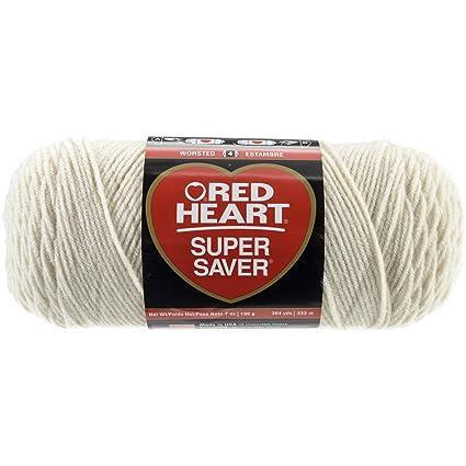Amazon Red Heart Super Saver Economy Yarn Aran